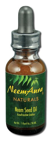 Neem Aura Naturals Neem Seed Topical Oil, 1 Ounce - 3 per -