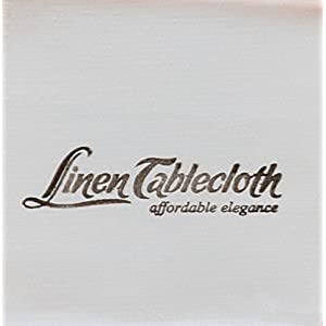 LinenTablecloth 108-Inch Round Polyester Tablecloth Red & White Checker