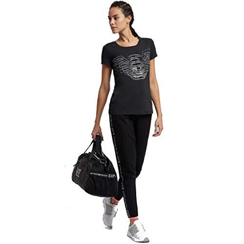 L Con 3d Armani Donna shirt T Effetto 3gtt04 White Taglia Logo Ea7 Cotone Principale Colore Tj28z Maglia Emporio nSx6Xq811