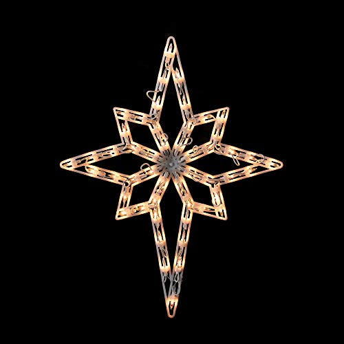 "Northlight 20"" Lighted Star of Bethlehem Christmas Window Silhouette Decoration"