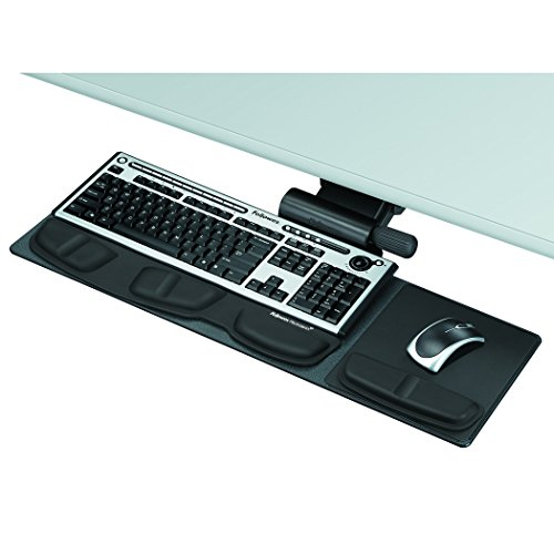 Lock Keyboard Tray System - Fellowes Professional Series Compact Keyboard Tray (8018001)