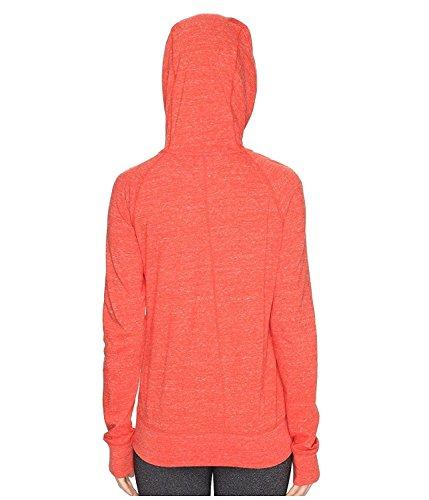 Felpa Nike Gym Vintage Damen Felpa Con Cappuccio Arancione (arancione 852)