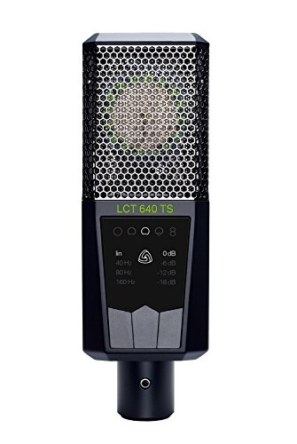 (Lewitt Multi-Pattern Large Diaphragm Condenser Microphone with Shock Mount (LCT-640-TS))