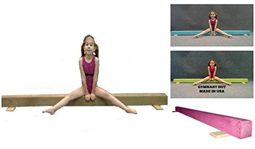 Gymnast Hut 8ft Floor Balance Beam (CARIBBEAN BLUE)