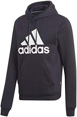 FD00Y #Adidas Mh Bos Po Fl Nero, Felpa Con Cappuccio Uomo, XL/S