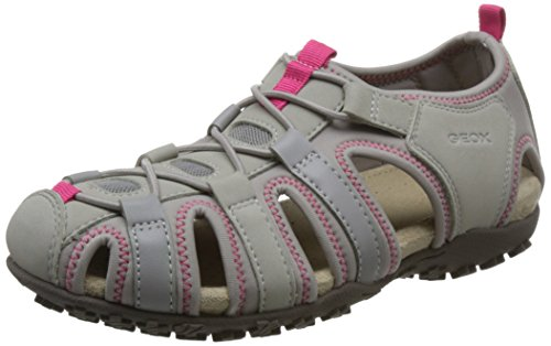 Women's Grey Geox Geox Gladiator Women's E8q4WXcwg