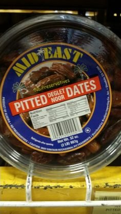 Mid East Pitted Deglet Noor Dates 32 Oz (12 Pack) by Mid-East