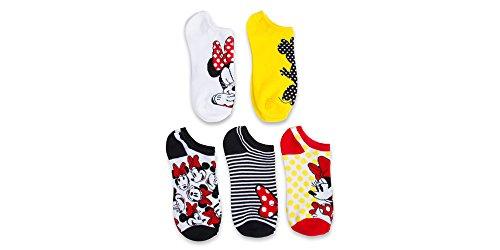 Disney Womens Classic 5 Pack Socks
