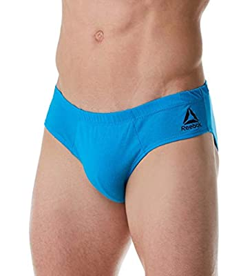Reebok Men's Low Rise Underwear Briefs (5 Pack)