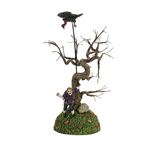 Department 56 Accessories for Villages Halloween Fortunato The Vulture Trainer Village Accessory, 10.5 inch height ()