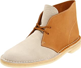 Clarks Men's Desert Boot,White/Gold,9 M US (B0058ZNTHS) | Amazon price tracker / tracking, Amazon price history charts, Amazon price watches, Amazon price drop alerts