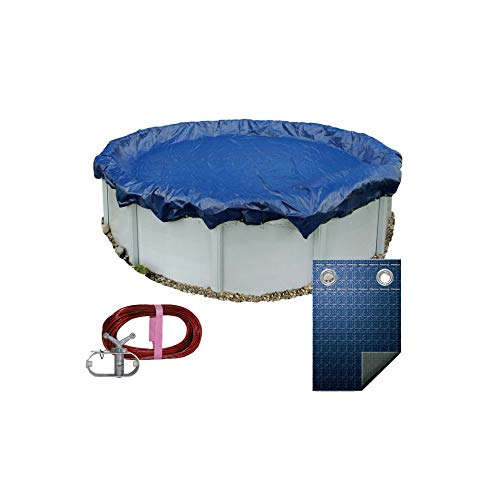 Pooltux 27' or 28' Winter Above Ground Round Pool Cover