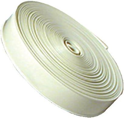 RV Designer E321 1 inch Wide Standard Vinyl Insert Trim White 25 foot Roll
