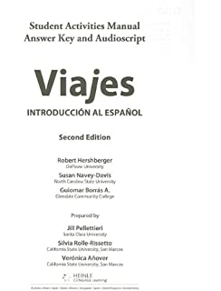 Amazon bundle viajes introduccion al espanol 2nd ilrn viajes introduccion al espanol sam answer key and audio script fandeluxe
