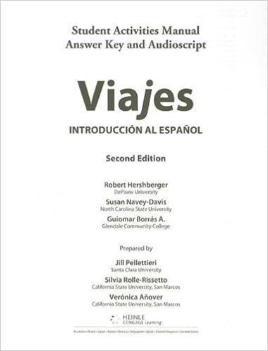Amazon viajes introduccion al espanol sam answer key and viajes introduccion al espanol sam answer key and audio script 2nd edition fandeluxe Images