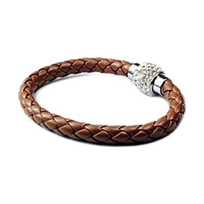 AUTHENTIC HANDMADE Leather Bracelet, Men Women Wristbands Braided Bangle Craft Multi [SKU001515]