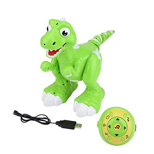 RC モデル ウォーキング恐竜 かわいいロボット 赤外線 センサー おもちゃ スプレー 歌 踊り 目発光  歩く動く 回転 フォローする 面白い 子供 キッズ 1Pc
