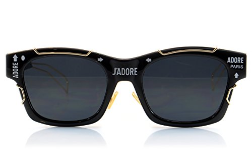 Fa.Beau.Lux Unisex Single or 2 Pack Boyfriend Girlfriend Couple Sunglasses Men Women (a. Black Gold) by Fa.Beau.Lux