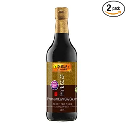 Amazon.com : Lee Kum Kee Premium Dark Soy Sauce, 16.9-Ounce Bottle ...