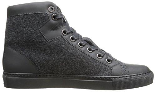 Viktor & Rolf Mens Felt Hightop Fashion Sneaker Grigio Scuro