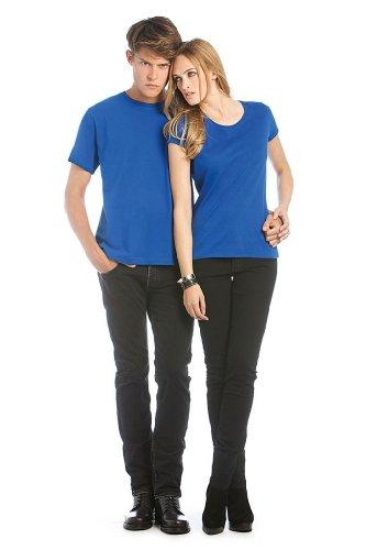Exact 190 Women Very Crew Neck T-shirt, Farbe:Royal;Größe:XS
