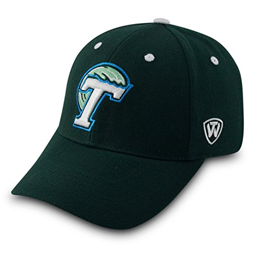 Top of the World Tulane Green Wave Triple Threat Hat Green (Tulane World Green)