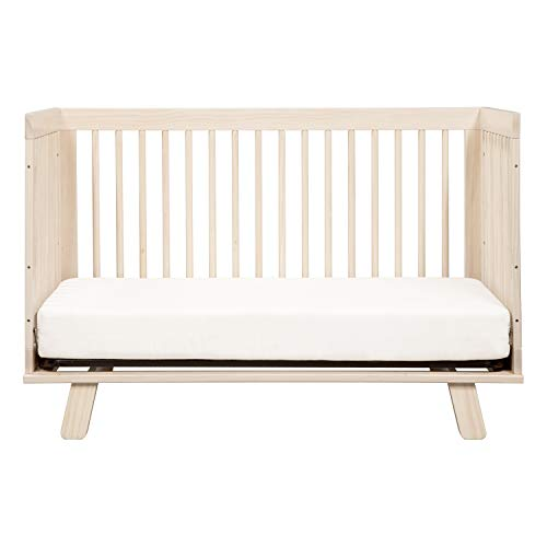 417e1Ldu6%2BL - Babyletto Hudson 3-in-1 Convertible Crib With Toddler Bed Conversion Kit In Washed Natural, Greenguard Gold Certified
