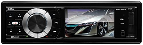 BOSS Audio BV7335B Single Din, Bluetooth, DVD/CD/MP3/USB/SD AM/FM Car Stereo, 3.2 Inch Digital LCD Monitor, Detachable Front Panel, Wireless - Player Dvd Legacy