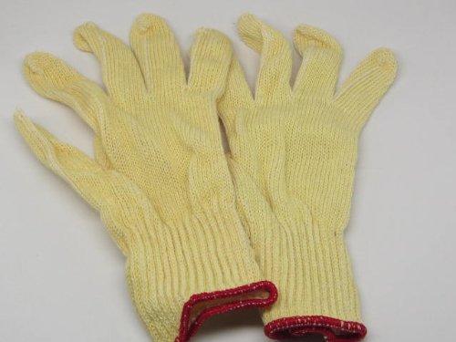 2 Boss Knit Kevlar Wood Carving Cut Resisant Gloves Reversable Medium