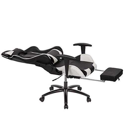 Office Chair High-back Recliner Office Chair Computer Chair Ergonomic Design Racing Chair by BestOffice (Image #5)