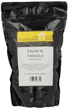 Elmwood Inn Fine Teas, French Vanilla Black Tea, 16-Ounce Pouch