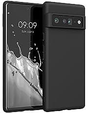 kwmobile telefoonhoesje compatibel met Google Pixel 6 Pro - Hoesje voor smartphone - Back cover in zwart