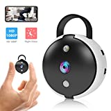 Spy Camera Wireless Hidden Security Camera Mini Wi-Fi Cam HD 1080P Covert Secret