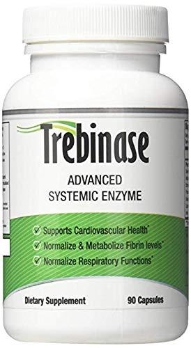 Trebinase 320,000 FU's Per Capsule Advanced Systemic Enzyme Blend of Serrapeptase, Nattokinase & Seaprose Plus Co-Enzymes - Dissolve Scar Tissue Quickly.- 99.99% Pure Pharmaceutical Grade Enzymes by Trebinase (Image #4)