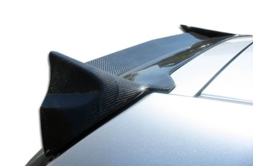Duraflex Replacement for 2002-2005 Honda Civic Si HB JDM Buddy Roof Window Wing Spoiler - 1 ()