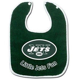 NFL McArthur New York Jets Green Cotton Baby Bib