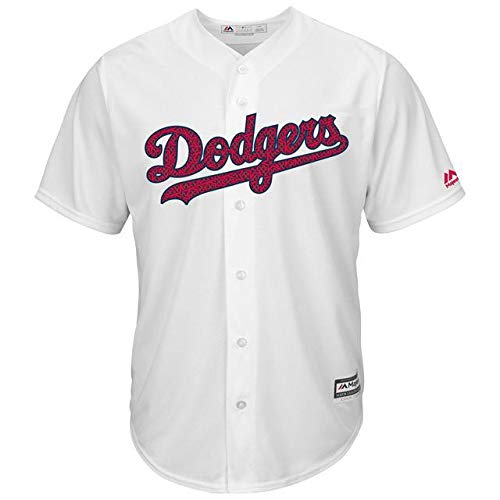 Majestic Base Majestic B07GNV8SSS Los Angeles Dodgers White Fashion XL Stars & Stripes Cool Base Jersey スポーツ用品【並行輸入品】 XL B07GNV8SSS, パーティードレス通販オトナGIRL:7823f0fd --- cgt-tbc.fr
