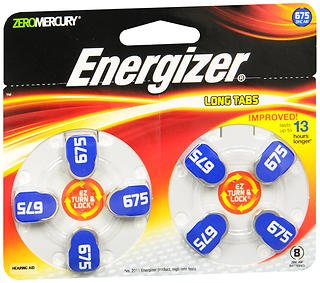 Hearing Aid Battery (Eveready Hearing Aid Batteries)