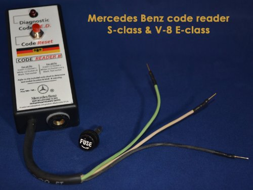 Amazon com: Mercedes Benz Diagnostic code reader kit OBD1 W140 R129