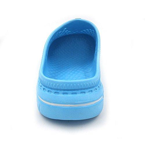 Sandals Garden Clogs Unisex Shoes Slippers Amoji Lightblue wgzIqn