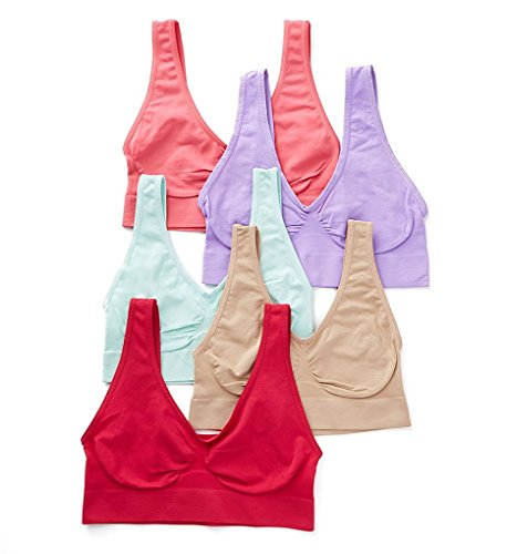 (Rhonda Shear Original Ahh Bra Mystery - 5 Pack (9588X5) XL/Assorted)