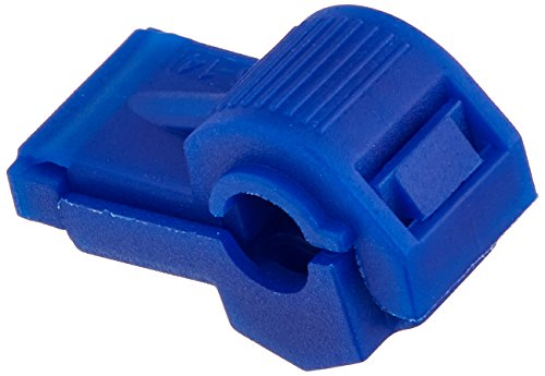 Install Bay BTT Blue Insultion Displacement T-Tap Connector 16-14 Gauge - 100 Pack
