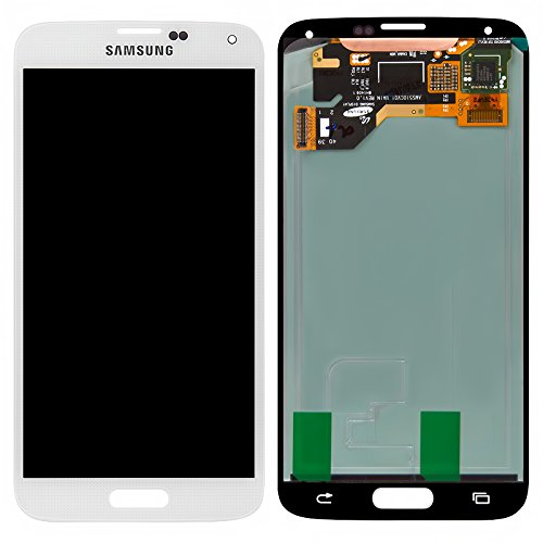 ePartSolution_Samsung Galaxy S5 G900A G900T G900V G900P LCD Touch Screen Digitizer Assembly Replacement Part USA Seller (White)