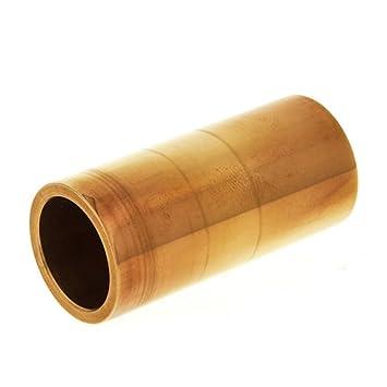 Amazon.com: SLIDES GUITARRA ELECTRICA - Dunlop (Mod.224) (Laton Cromado) (Heavy/Medium) (22x26x60mm): Musical Instruments