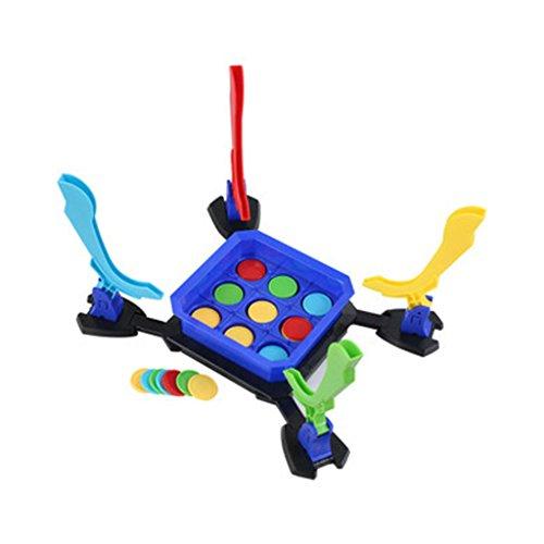 【ノーブランド品】家族の楽しい 知育玩具 子供と一緒 4人遊び おもちゃ 面白い スライド チップ滑る 対戦ゲーム 誕生日プレゼントの商品画像