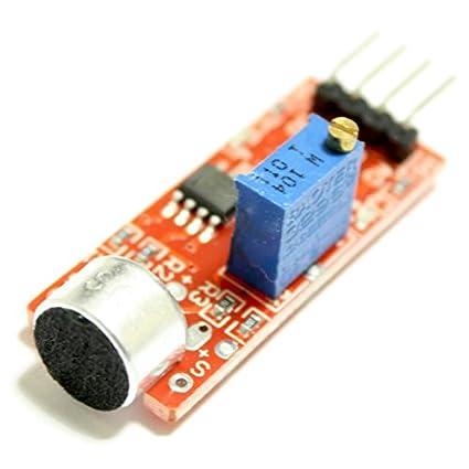 micrófono de módulo de sensor detector de sonido con salida analógica y digital,, por
