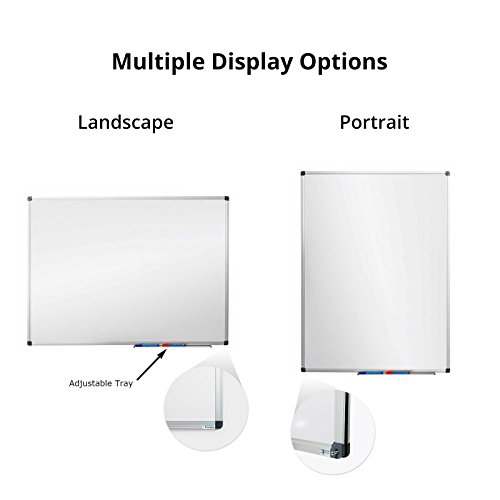 Magnetic White Board | Dry Erase Board | # 1 in Europe | Excellent for Office and Home - 48'' x 36'' by Master of Boards (Image #4)