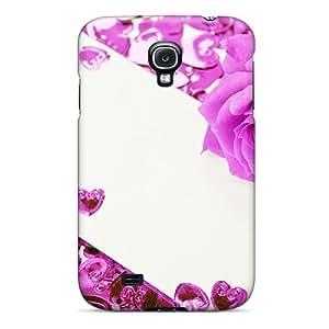 INgkZrf2370PocVg Case Cover Violet Rose Galaxy S4 Protective Case