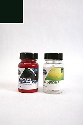 - ColorRite Two-Ounce Bottle Lexus ES330 Automotive Touch-up Paint - Black Onyx 202 - Color+Clearcoat Package