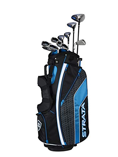 Callaway Golf Men's Strata Complete 12 Piece Package Set (Right Hand, Steel) (Golf Club Set Callaway)